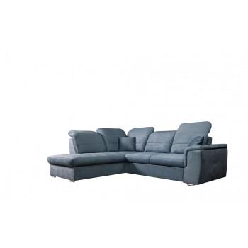 Canapé d'angle BLAS Bleu