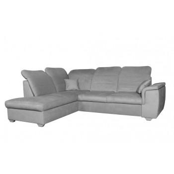 Canapé d'angle BLAS, gris