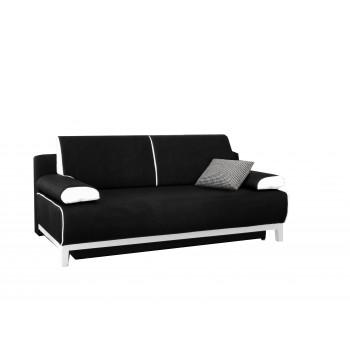 Canapé TINA noir + blanc
