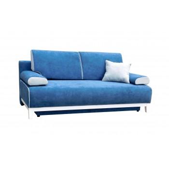 Canapé TINA Bleu + Blanc