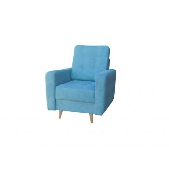 Fauteuil LESLO bleu