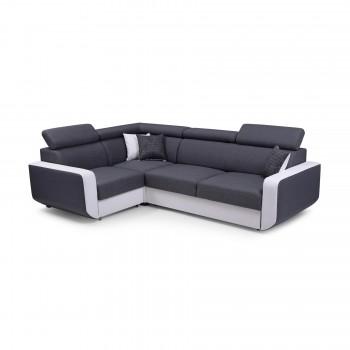 Canapé d'angle CELINE GRIS