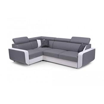 Canapé d'angle CELINE GRIS...
