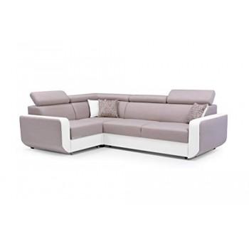 Canapé d'angle CELINE BEIGE...