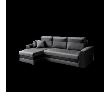 Canapé d'angle TOMMY-Gris