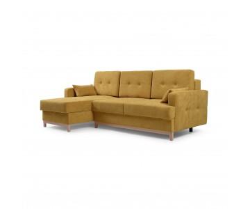 Canapé d'angle SOPHIE Jaune