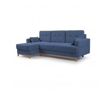 Canapé d'angle SOPHIE Bleu...