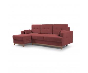 Canapé d'angle SOPHIE Rouge
