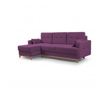 Canapé d'angle SOPHIE Violet