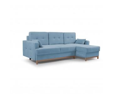 Canapé d'angle SOPHIE Bleu