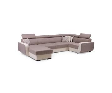 Canapé d'angle grand MAXIM...