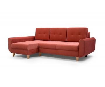 Canapé d'angle BONN Orange
