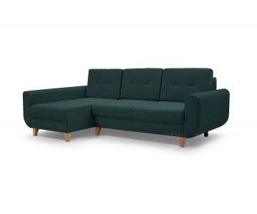 Canapé d'angle BONN Vert...