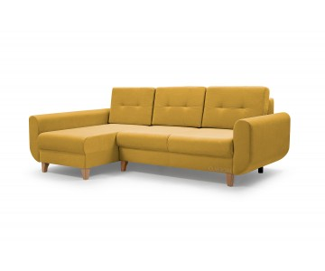 Canapé d'angle BONN Jaune