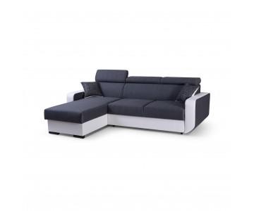 Canapé d'angle PEDRO Gris