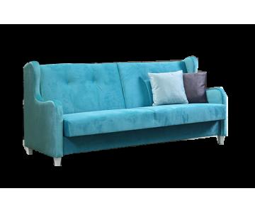 Canapé 3-places HENRY (Bleu)