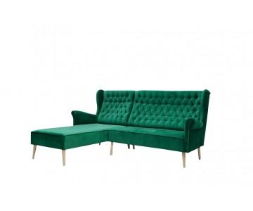 Canapé d'angle VELO (Vert...