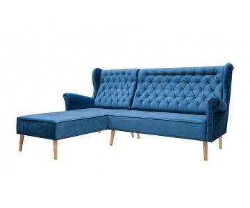 Canapé d'angle VELO (Bleu...
