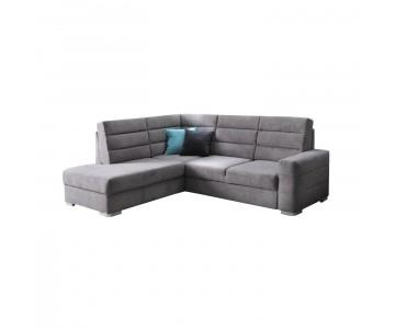 Canapé d'angle BENJAMIN (Gris)