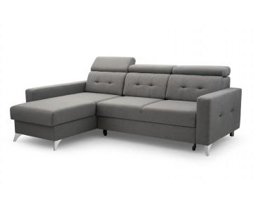 Canapé d'angle LIROY (Gris)