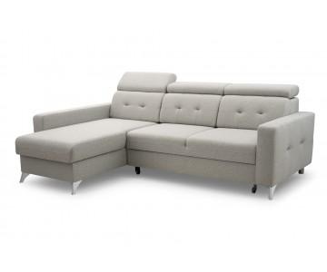 Canapé d'angle LIROY (Gris...