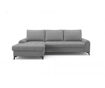 Canapé d'angle-DELICE (Gris...