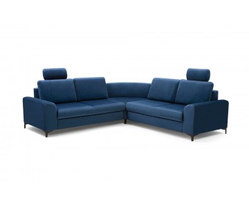 Canapé d'angle-OSAKA (Bleu...