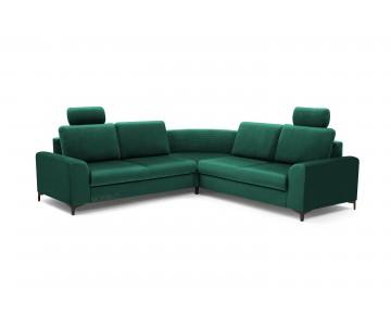 Canapé d'angle-OSAKA (Vert...