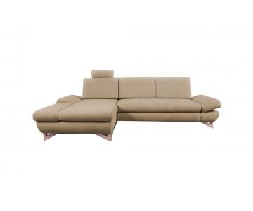 Canapé d'angle-MERIDA (Beige)