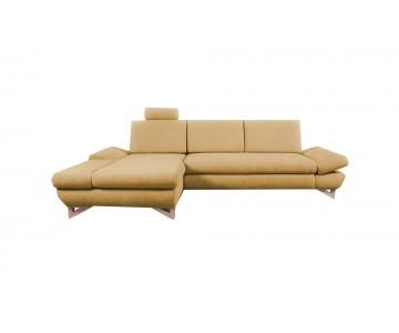 Canapé d'angle-MERIDA (Jaune)
