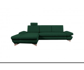 Canapé d'angle-MERIDA (Vert...