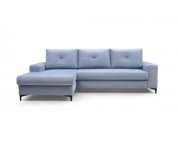 Canapé d'angle-EMI (Bleu)