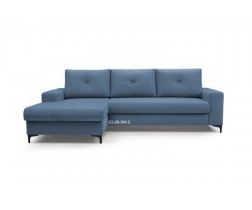 Canapé d'angle-EMI (Bleu...
