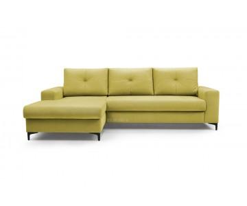 Canapé d'angle-EMI (Jaune)
