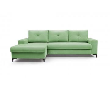 Canapé d'angle-EMI (Vert)