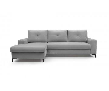Canapé d'angle-EMI (Gris...