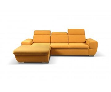 Canapé d'angle-FRESNO (Jaune)