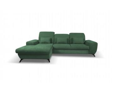 Canapé d'angle-CORSE (Vert)