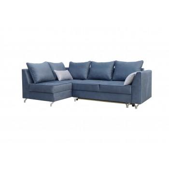 Canapé d'angle ABRA, bleu