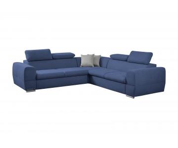 Canapé d'angle LIZBONA Bleu...