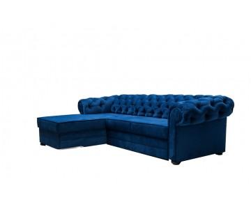 Canapé d'angle Avia Bleu...