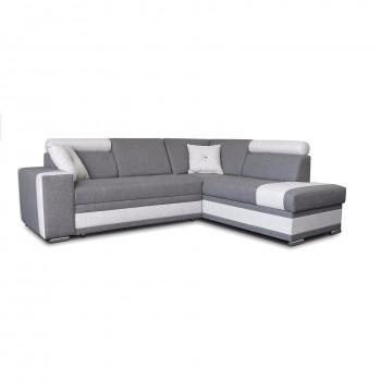 Canapé d'angle Jackson Gris