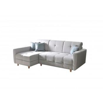 Canapé d'angle Tucson Gris...