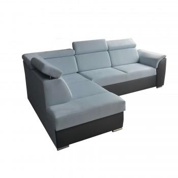 Canapé d'angle Modena II Bleu