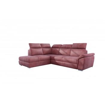 Canapé d'angle - DEMAR - Rose