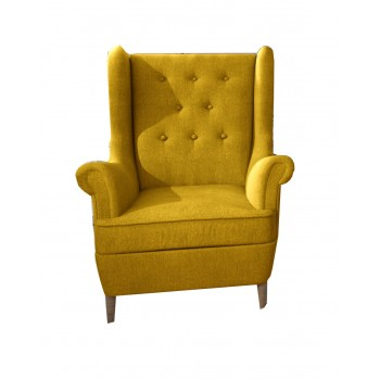 Fauteuils KROS  K05 jaune