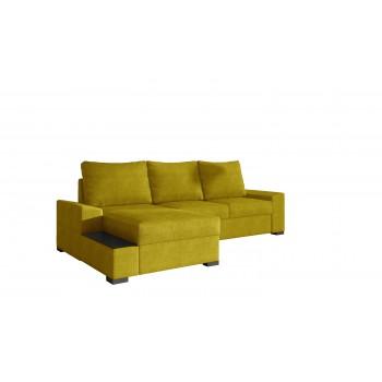 Canapé d'angle - GOMEZ - Jaune