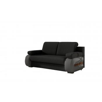 Canapé GRETA G01 noir + gris