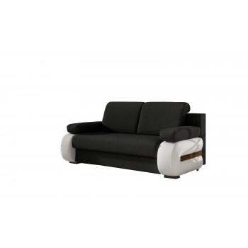 Canapé GRETA G12 Schwarz+ Weiß