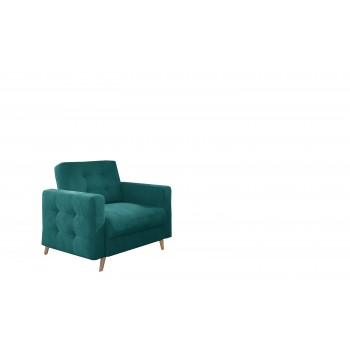 Fauteuil ASLAN 04 turquoise